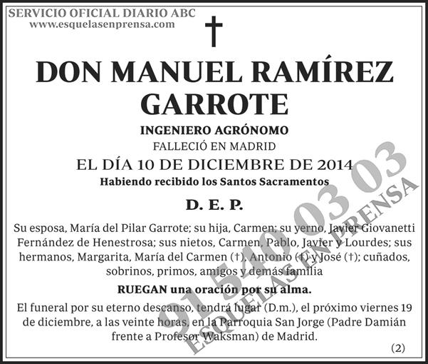 Manuel Ramírez Garrote